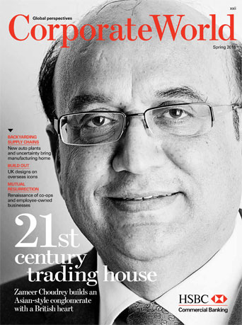 ... Choudrey Interviewed by HSBC's Corporate World :: Bestway Cash & Carry
