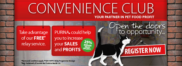 Convenience Club - Your partner in pet food profit