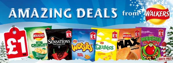 Amazing deals from Walkers