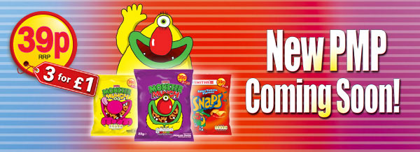 Monster Munch/Snaps - New PMP Coming Soon