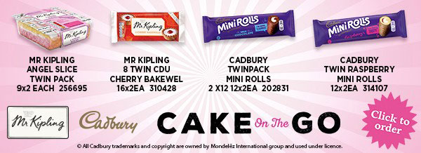 Mr Kipling/Cadbury - Cake on the Go