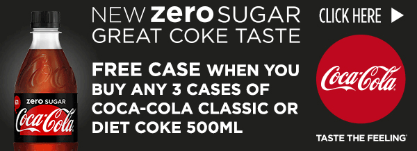 New Zero Sugar, Great Coke Taste