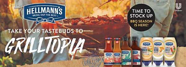 Hellmann's - Take your tastebuds to grilltopia