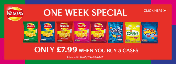 Walkers One Week Special