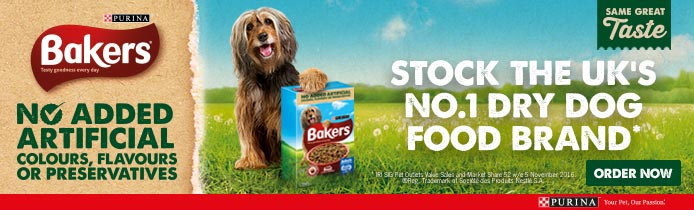 Bakers - Stock the UK's no.1 dry dog food brand