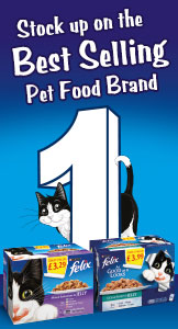 Felix - Stock up on the best selling pet food brand