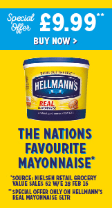 Hellmann's - The nation's favourite mayonnaise