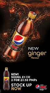 New Ginger Flavour Pepsi Max