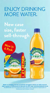 Robinsons Real Fruit - enjoy drinking more water