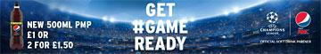 Pepsi Max - Get game ready