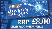 New Benson & Hedges