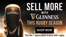 Sell more with Guinness this rugby season