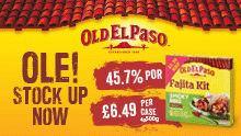 Old El Paso - Ole! Stock up now
