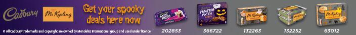 Cadbury's Mr Kipling