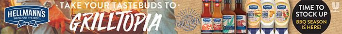 Hellmann's - Take your tastebuds to grilltopia