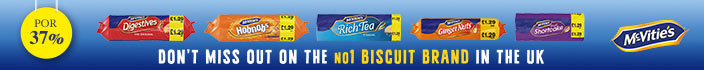 McVitie's - Don't miss out on the No1 biscuit brand in the UK