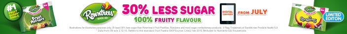 Rowntree Fruit Pastille/Random Reduced Sugar