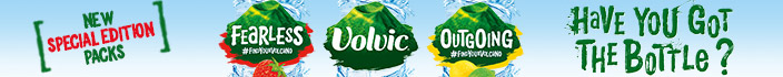 Volvic new special edition packs - Have you got the bottle?