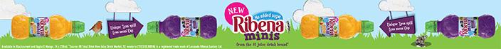 New Ribena Minis