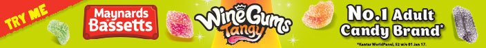 Wine Gums Tangy - No.1 Adult Candy Brand