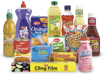 Our brands best in own label grocery products bestway