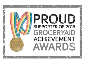 GroceryAid Achievement Awards 2015 Gold Winner
