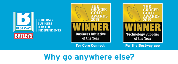 The Grocer Gold Awards 2015 Winner