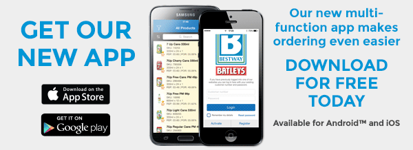 Get our new app - makes ordering even easier