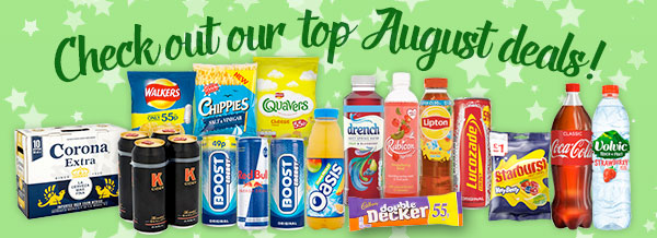 Check out our top August Deals