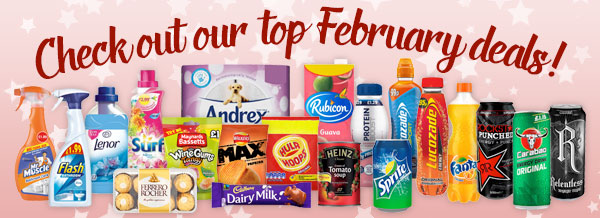 Check out our top February Deals