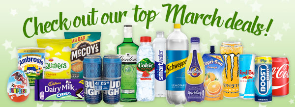 Check out our top March Deals