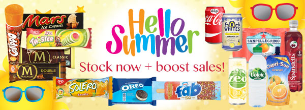 Hello Summer! Stock now + boost sales
