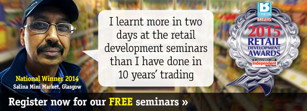 Register today for our FREE retail development seminars